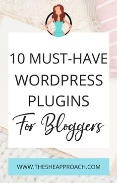 Many people find WordPress to be one of the best blogging platforms out there – myself included If you are a blogger and you just started your own website on Wordpress you need to know a few important things about it! I will show you10 Must-Have Wordpres Plugins for bloggers witch can be very helpful for your Website - if you want to learn another interesting facts you should read the post on my Blog! #bloggingtips #websitetips #wordpressplugins #websitedesign Email Marketing, Content Marketing, Business Tips, Online Business, Best Blogs, Wordpress Plugins, Make Money Blogging, Interesting Facts, Blog Tips