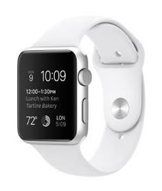 Apple Smartwatch Sport 42mm Silver Aluminium Case White Sport Band 42mm Case 7000 Series Silver Aluminum Ion-X Glass Retina Display Composite Back Sport Band White Fluoroelastomer Stainless Steel Pin   List Price: $ 477.00  Price: $ 477.00  U8 Bluetooth Smart Wrist Watch Phone Mate For Android, Apple iphone - Smartwatch  $18.59 End Date: Sunday Aug-2-2015 17:22:04 PDT Buy It Now for only: $18.59 Buy It Now | Add to watch list