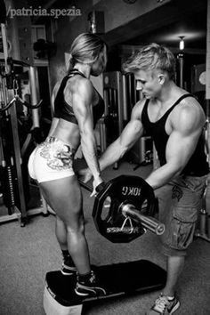 "The saying ""couples that train together, stay together"", we don't know if that's true or not since there are no measurable statistics. But one thing is for sure, looking at couples like these proudly showing off there hard earn gains is certainly motivating to look at."