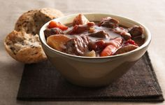 Slow Cooker Beef Stew with Shiitake Mushrooms