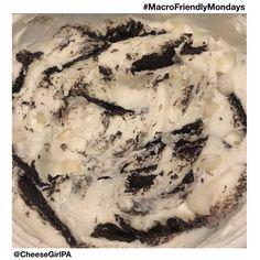 MacroFriendlyMonday — Cookies & Cream Protein Bowl Tupperware Bowls, Oreo Thins, Oreo Flavors, Yogurt Bowl, Oreo Crust, Cookies And Cream, Healthy Treats, Whole Food Recipes, Protein