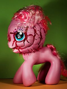 "Exploding Ponies In The Name Of Art Pinkie Pie! What have they done to you? Reminds me of ""Too many Pinkie Pies"""