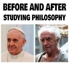 Philosophy Memes, Study Philosophy, New Memes, Dankest Memes, Jokes, Student Life, Student Work, Deepest Gratitude, Om Shanti Om