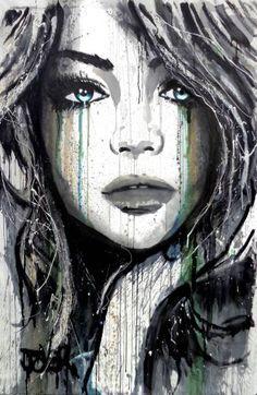 """Saatchi Art Artist Loui Jover; Painting, """"winter sun"""" #art"""