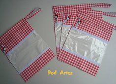 Saco Sapato Infantil 1 Par (4 und.) S/B