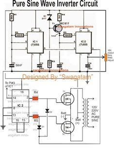6V To 220V Inverter Circuit Diagram | Pure Sine Wave Inverter Circuit Diagram Free Download Wiring Diagram