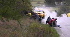 Incrível Como Todos Sobreviveram a Este Acidente De Rally
