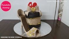 louis vuitton lv birthday cake lady teenage girl female women high heel ...