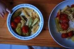 Fusilli with Oven-Roasted Tomatoes and Zucchini for Mother and Child (serves one mother and one baby) | Wednesday Chef
