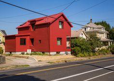 Ben Waechter updates old Portland house with red facade