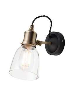 Bedside Lighting, Home Lighting, Kitchen Lighting, Electrical Fittings, Kitchens And Bedrooms, Light Fittings, Vintage Home Decor, Vintage Style, Kitchen Styling