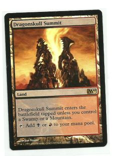 Foil Dragonskull Summit - Land - Magic 2010