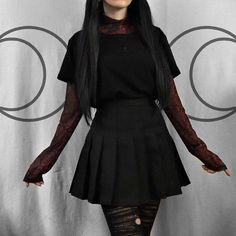 classy outfits plus size Grunge Outfits, Hipster Outfits, Gothic Outfits, Edgy Outfits, Cool Outfits, Fashion Outfits, Pink Outfits, Skirt Outfits, Fashion Ideas