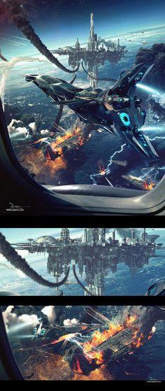 Battlefield by Dragos Jieanu