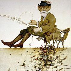 Sigmund Freud (1856-1939) visto por Tullio Pericoli | Edición impresa | EL PAÍS