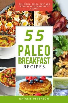 PALEO  BREAKFAST RECIPES: 55 Paleo Breakfast Recipes: Delicious, Quick, Easy and Healthy Paleo Recipes: Feel Good, Lose Weight and Improve Your Health ... Paleo Diet Cookbook (PALEO WORLD) (Volume 4) -- Check this awesome product by going to the link at the image.