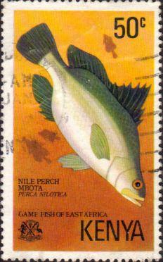 Postage Stamps Kenya 1977 Game Fish of East Africa SG 71