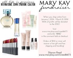 IDSC for Life - Mary Kay fundraiser (thru 3/21)