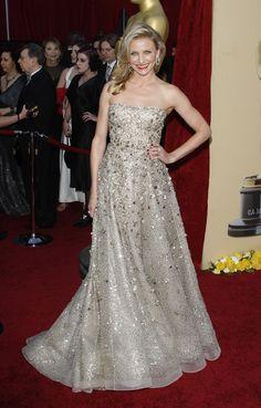 Cameron Diaz as Oscar!  gorgeous dress