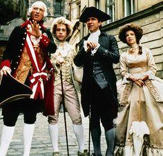 Amadeus.(Francois joseph king of the Autro Hungarian empire, Wolfgang,Salieri and Wolfgang's wife Elisabeth)