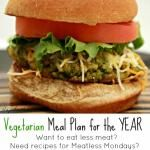 Vegetarian Meal Plan for the Year: March and April