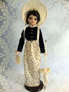 Purple Regency outfit