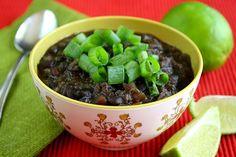 Chipotle and Black Bean #Quinoa Stew