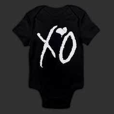 XO Drake The Weeknd Onesie by DuskTilDawnClothing on Etsy