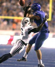 Week 4: (24) Boise State #Broncos over BYU #Cougars 7-6.