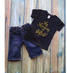 My mommy is Stylist/ Girl Onesie / Baby Outfit / Baby Onesie / Princess Outfit/Bodysuit/Baby shower gift/Baby gift
