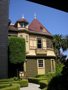 Winchester Mystery House in California-such a cool, creepy place. Lots of memories of going there when I was little.