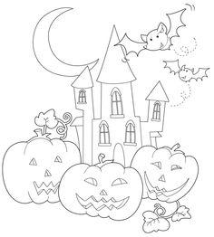 pdf stampabile da colorare printable pdf: http://www.inunamatita.it/d/notte-halloween.pdf