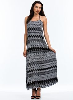 Going Tribal Maxi Dress