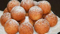 tvarohové-šišky-623x350 Kefir, Cooking Cookies, Pretzel Bites, Muffin, Brunch, Food And Drink, Bread, Breakfast, Recipes
