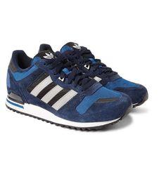 Adidas Originals   ZX700 Suede, Leather and Mesh Sneakers #adidasoriginals #sneakers