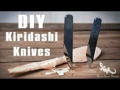 DIY Kiridashi Knives: 10 Steps (with Pictures)