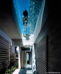 Awesome Rooftop Pool - via topoftheline99.com