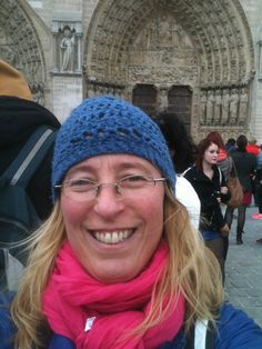 I'm in front of Notre Dame Cathedral. Photo taken 2011.