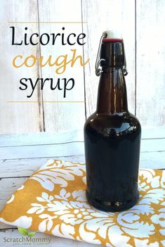 DIY Licorice Cough Syrup