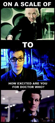 Only true whovians will understand :) This needs to be updated!