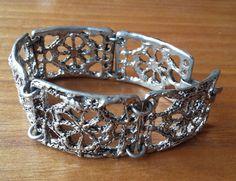 Vintage Finland Pewter Bracelet Design Tapani Vanhatalo 1970´s Scandinavia #Vanhatalo