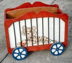 Circus Toy Box- easy enough to build