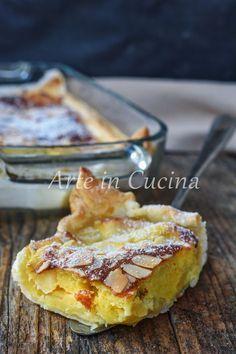 Teglia di mele al forno veloce Italian Desserts, Just Desserts, Italian Recipes, Apple Recipes, Sweet Recipes, Ricotta, Pie Co, Torte Recipe, Sweet Corner