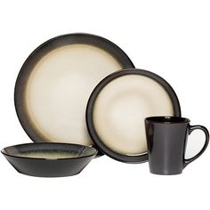 Savannah Red Stoneware Dinnerware Set - 16 pieces for your Western ...