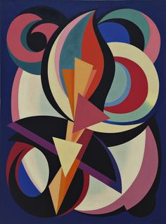 Auguste Herbin - Untitled, 1939. Oil on canvas