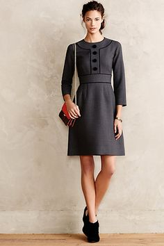 Katonah Wool Dress @ Anthropologie. I like this! And totally different from the Gucci dresses I just pinned.