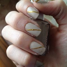 Sand tropez by essie and matte top coat by gosh