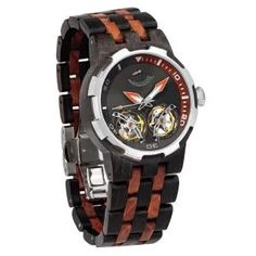 Men's Dual Wheel Automatic Ebony & Rosewood Watch - 2019 Most Popular for sale online Machining Process, Wooden Watch, Most Popular, Walnut Wood, Automatic Watch, Casio Watch, Watches For Men, Best Gifts, Man Shop