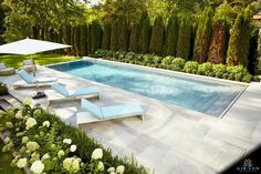 Check out these 16 pool fence ideas for your garden pool.Check out these 16 pool fence ideas for your garden pool. Pool fence requirements, laws, and costs may vary by state. Small Backyard Patio, Backyard Pool Landscaping, Backyard Patio Designs, Swimming Pools Backyard, Outdoor Pool, Swimming Pool Designs, Landscaping Ideas, Inground Pool Designs, Privacy Landscaping