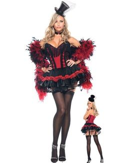red fringe pleated trim magician girl halloween costume2014 cute halloween costumes